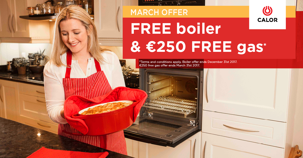 Free Boiler Offer Facebook Ad