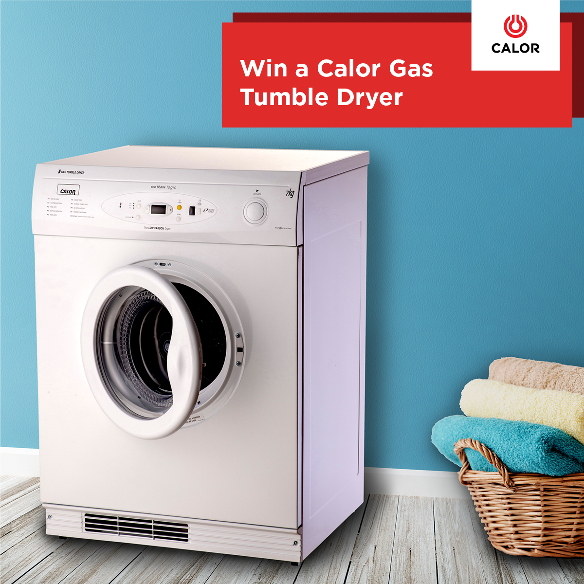 Tumble Dryer Giveaway FB Post